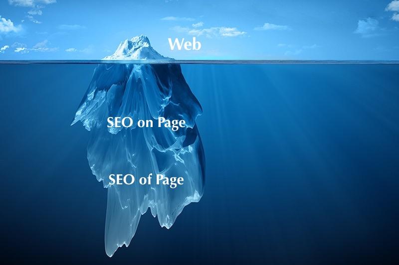 El SEO como un iceberg